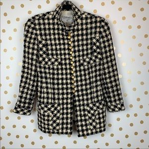 Vintage Chanel Houndstooth Jacket